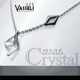 VASSELI~╮ 免  12期0率 買一送五╭~~波蘭迷情~男墜~Swarovski水晶