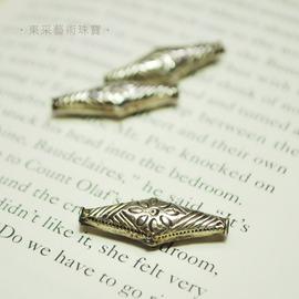 ~東采藝術珠寶~老件 925純銀珠 早期 925銀珠珠子 OSI00014 飾品材料串珠