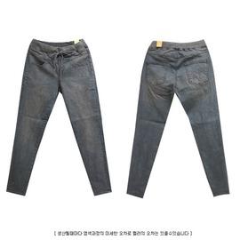 韓國妹~eya0039~韓國空運YAN~STORY 正品. 韓國製復古刷洗BAGGY牛仔褲