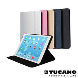 ~iSupe 愛速配~TUCANO iPad Air2 Folio 髮絲紋可站立式保護套