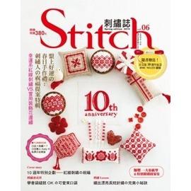 Stitch刺繡誌06.繫上好運的春日手作禮:刺繡人的祝福提案特輯.幸運系紅線刺繡VS 裝