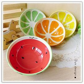 【Q禮品】A2345 日系彩釉水果陶瓷碗/水果造型碗/釉彩水果碗/陶瓷沙拉碗/碗盤/瓷器/餐具