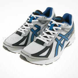 6折出清~ASICS~PATRIOT 7 基本款 白色學生鞋 慢跑鞋 (T4D1N-0142)