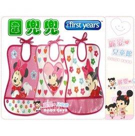 麗嬰兒童玩具館~the first years-小孩學習餐桌禮儀最佳選擇-米奇/米妮~圍兜兜