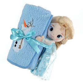 迪士尼冰雪奇緣毛毯娃娃車上被被子通販部