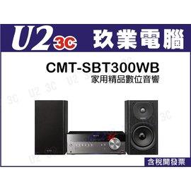 貨有 ~嘉義U23C~SONY 音響 CMT~SBT300WB 旗艦級床頭音響 支援 音源