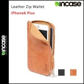 ~AShop民權店~APIS~Incase Leather Zip Wallet 皮革拉鏈