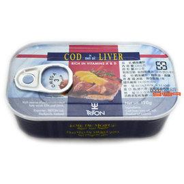 【吉嘉食品】Triton 鱈魚嫩肝/鱈魚肝 1罐120公克73元,冰島進口,另有Ajtel Ice鱈魚肝{5690302115226:1}