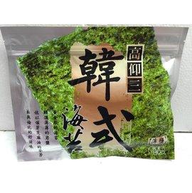 威加~韓式薄鹽燒海苔^(18枚^)