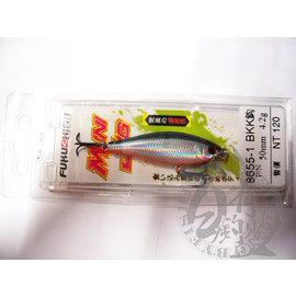 ◎百有釣具◎FUKUSHIMA 8655 BKK鉤 路亞假餌 50mm 4.2g 顏色隨機出貨