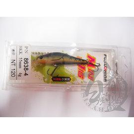 ◎百有釣具◎FUKUSHIMA 8638 BKK鉤 路亞假餌 55mm 4g 顏色隨機出貨