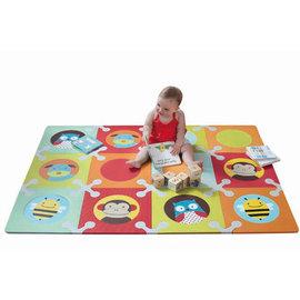【紫貝殼】『MBB01-5』美國 Skip Hop Playspot 寶寶無毒遊戲地墊/巧拼 -動物地墊【保證公司貨●品質有保證】