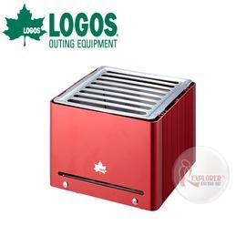 探險家戶外用品㊣NO.81062800 品牌LOGOS 紅魔鬼迷你BBQ烤箱 桌上燒烤盤