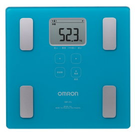 OMRON歐姆龍體重體脂計HBF~214^(白色^)^(附 提袋一個^)體脂體重計