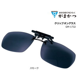 ◎百有釣具◎gamakatsu GM-1732 夾眼鏡式 偏光鏡