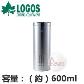 探險家戶外用品㊣NO.81287600 日本品牌LOGOS 冰點不繡鋼真空保溫壺 (600ml) 不銹鋼保溫壺 保溫瓶 保溫杯 斷熱杯 保冷杯