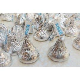 3號味蕾~ Hershey kisses 巧克力 銀色 150g....賀喜好時巧克力..