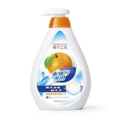 魯魯 ~橘子工坊~天然去油碗盤洗滌液 重油汙配方500ML
