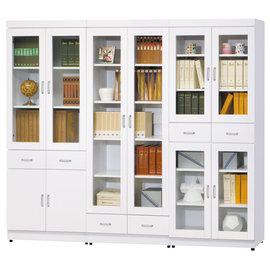 ~ 屋~^~UZ6^~亞泰純白7.2尺書櫃UZ6~265~1免 免組裝 書櫃 抽屜櫃