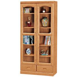 ~ 屋~^~UZ6^~尚麗赤楊木2.7尺下抽書櫃UZ6~256~5免 免組裝 書櫃 抽屜櫃