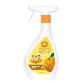 魯魯 ~橘子工坊~天然廚房爐具 清潔劑480ML