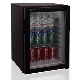 Dellware玻璃門吸收式無聲客房冰箱60L (DW-60T)