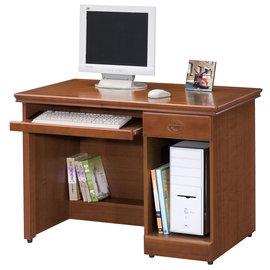 ~ 屋~^~UZ6^~長榮樟木3.5尺電腦桌284~3免 免組裝 書桌 電腦桌