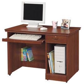 ~ 屋~^~UZ6^~長榮柚木色3.5尺電腦桌289~9免 免組裝 書桌 電腦桌