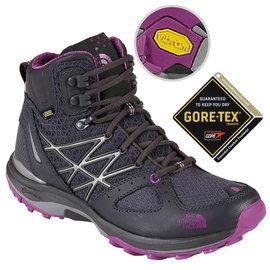 【美國 The North Face】ULTRA FASTPACK 女款Gore-Tex防水透氣中筒輕量登山鞋.登山鞋.越野鞋.健行鞋 _CDM7 暗影灰/拜占庭紫 DV