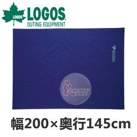 探險家戶外用品㊣NO.85001000 日本品牌LOGOS 多用途防水墊 (200*145) 防水地布 地墊 野餐墊 防潮墊 露營墊