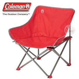 探險家戶外用品㊣CM-21990 美國Coleman 輕鬆椅 紅 盤腿椅月亮椅休閒椅露營椅折疊椅
