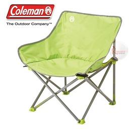 探險家戶外用品㊣CM-21991 美國Coleman 輕鬆椅 萊姆綠 盤腿椅月亮椅休閒椅露營椅折疊椅