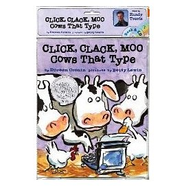 Click Clack Moo: Cows That Type CD喀哩,喀啦,哞,會打字