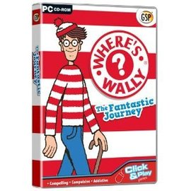 Where s Wally  The Fantastic Journey  PC CD 威