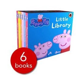 Peppa Pig: Little Library ^(粉紅豬小妹口袋書6本一套^)
