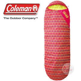 探險家戶外用品㊣CM~22268 美國Coleman 紅葉圖騰睡蛋 10度 女性與小孩 人