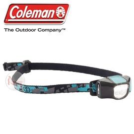 探險家戶外用品㊣CM-22296 美國Coleman CHT4微型40流明LED頭燈 黑藍 三光源四段切換40流明工作燈 登山 露營 野營