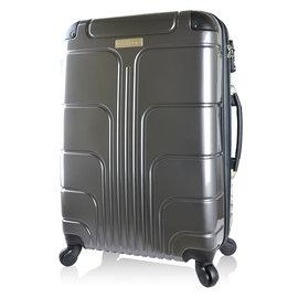 ~Luggagezone~旅遊家24吋PC鏡面防水拉鍊海關鎖行李箱 旅行箱