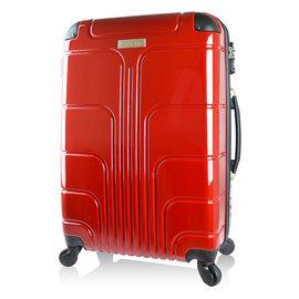 ~Luggagezone~旅遊家28吋PC鏡面防水拉鍊海關鎖行李箱 旅行箱