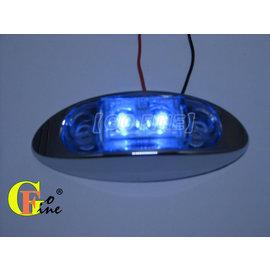 GO~FINE夠好台2led燈超迷你高亮度白殼藍2線1段led燈led側燈led邊燈led