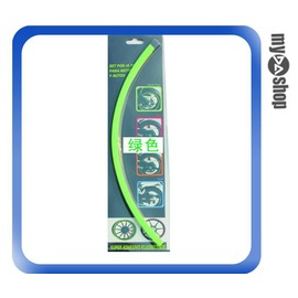 ~DA量販店~汽車 DIY 車輪 3M 輪框貼紙 反光貼紙 改裝 改色 14吋 綠色^(V