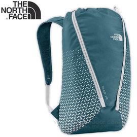 【美國 The North Face】新款 DIAD 18 輕量專業登山背包18L.旅遊輕便背包.運動休閒背包.後背包/可收納型背包.水袋夾層/CF04 柴油藍/灰