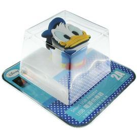 ~Disney~立體 2A充電轉接插頭 USB轉接頭~唐老鴨◆ !黃色小鴨耳機塞◆