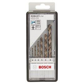 BOSCH博世 6支HSS-CO金屬鑽頭套裝組★適合各品牌電動工具