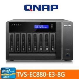 ~綠蔭~全店~QNAP TVS~EC880~E3~8G 儲存伺服器