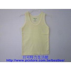 805B 羅紋薄棉背心^(條紋^) 34號 ^|^| 小三福^(男女13歲以上^) ^|^