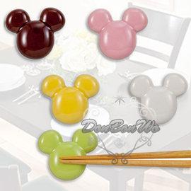 迪士尼米奇筷子架陶瓷置筷架五入馬卡龍大頭230625通販部