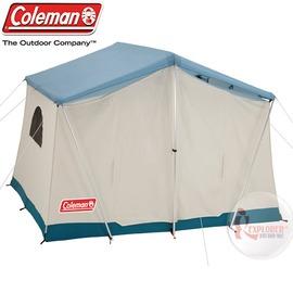 探險家露營帳篷㊣CM-23118 美國Coleman 綠洲帳篷 300x240cm 挑高五人大睡帳蓬帳棚