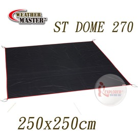 探險家戶外用品㊣CM-A0078 美國Coleman 氣候達人PVC地布 適用ST DOME 270 防潮地墊帳篷CM-24271