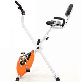 【SAN SPORTS 山司伯特】背靠大椅!飛輪式磁控健身車C082-922 (室內折疊腳踏車.摺疊美腿機.運動健身器材.推薦哪裡買)